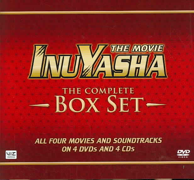 INUYASHA:MOVIE BOX SET (1-4) DELUXE E BY INUYASHA (DVD)